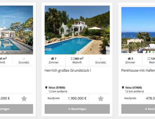Immopark Immobilien – Sommer, Sonne, Ibiza
